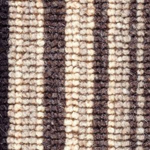 Cheltenham Stripe 03 Charcoal Black Beige Carpet