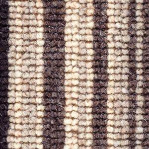 Cheltenham Stripe 03 Charcoal Black Beige Carpet