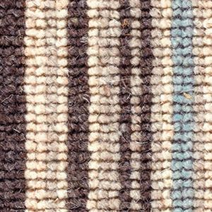 Cheltenham Stripe 04 Duck Egg Blue Beige Carpet