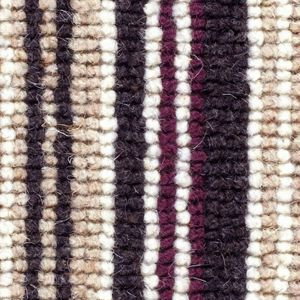 Cheltenham Stripe 06 Midnight Black Beige Carpet
