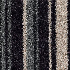 City Twist Supreme 03 Berry Stripe Black Grey Carpet