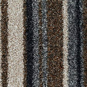 City Twist Supreme 13 Mocha Stripe Beige Grey Carpet