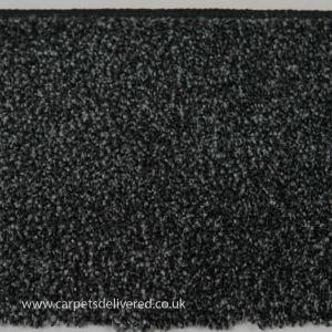Lisbon 03 Black Silver Mix Twist Carpet