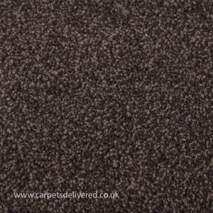 Lisbon 15 Dark Brown Twist Carpet
