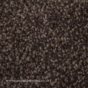 Lisbon 16 Dark Brown and Beige Mixed Twist Carpet