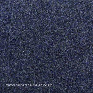 Prague 897 Midnight Blue Stain Defender Polypropylene Carpet