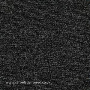 Vienna 78 Anthracite Stain Defender Polypropylene Carpet