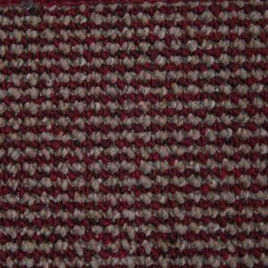 Rome 1459 Red Stain Defender Polypropylene Carpet