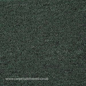 Nashville 46 Dark Green Polypropylene Easyback Carpet