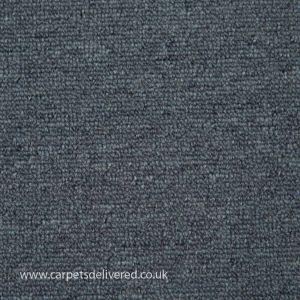 Nashville 85 Light Blue Polypropylene Actionback Carpet